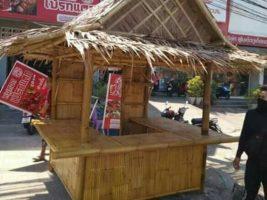 gerobak bambu