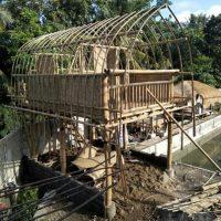 kerangka bambu