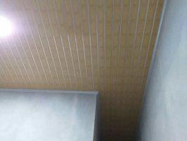 Plafon PVC corak biasa