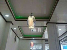 Ornamen plafon PVC