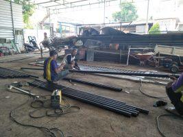 pekerjaan besi dan las