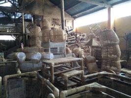 Kerajinan bambu Lombok