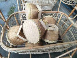 Bakul nasi dari bahan bambu