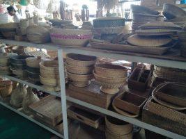 kerajinan dari bahan bambu