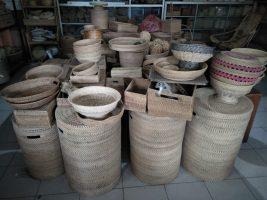 Aneka kerajinan bambu