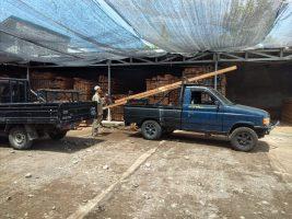 Gudang kayu Mataram