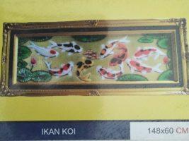 Lukisan Relive Ikan Koi