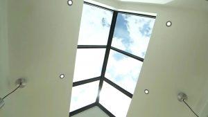 Kusen Aluminium Atap Kaca