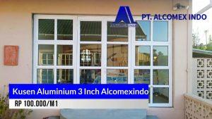 Kusen aluminium 3 Inch Alcomexindo