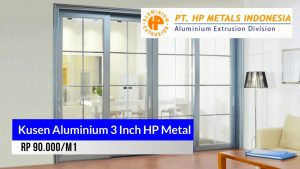 Kusen aluminium 3 Inch HP Metal