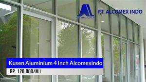 Kusen aluminium 4 Inch Alcomexindo