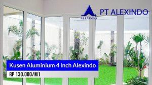 Kusen aluminium 4 Inch Alexindo