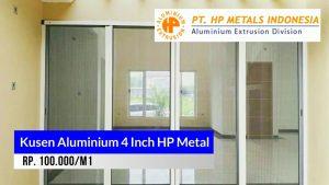 Kusen aluminium 4 Inch HP Metal