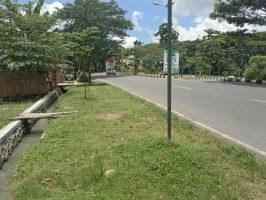 tanah pinggir jalan bypass